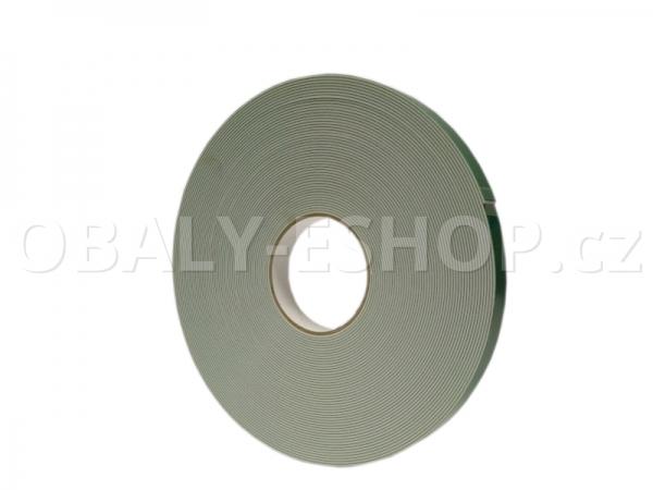 Oboustranná lepicí páska pěnová FA432 19x1,6mmx25m Bílá