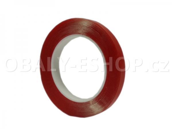 Oboustranná lepicí akrylová páska A100 12mmx5m Transp.
