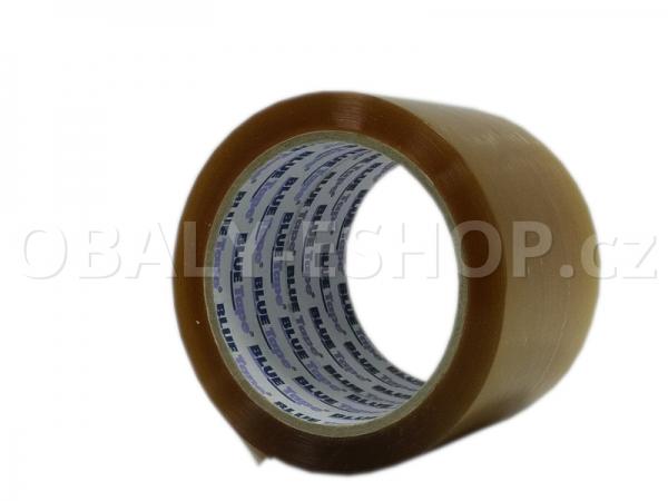 Lepicí páska LP3 75mmx66m Transp. Solvent 45µm Blue Tape
