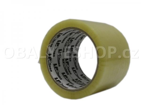 Lepicí páska LP2 72mmx66m Transp. Hotmelt 42 µm