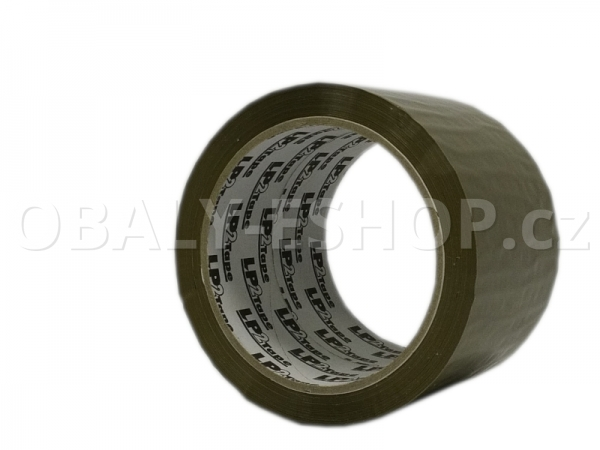 Lepicí páska LP2 72mmx66m Hnědá Hotmelt 42 µm