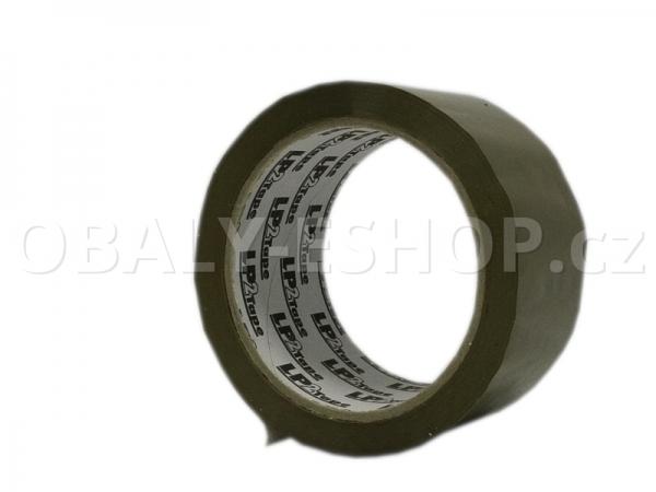 Lepicí páska LP2 48mmx66m Hnědá Hotmelt 42 µm