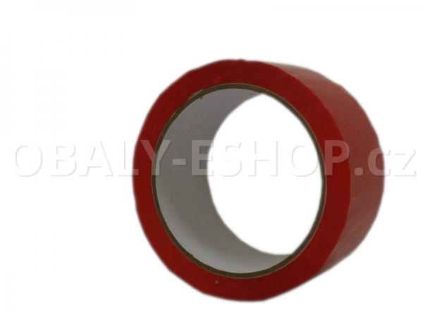 Lepicí páska LP1 48mmx66m Červená Akryl 40µm