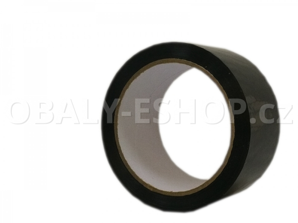 Lepicí páska LP1 48mmx66m Černá Akryl 40µm
