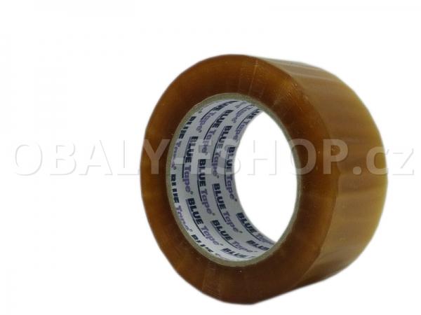Lepicí páska LP3 48mmx132m Transp. Solvent 42µm Blue Tape