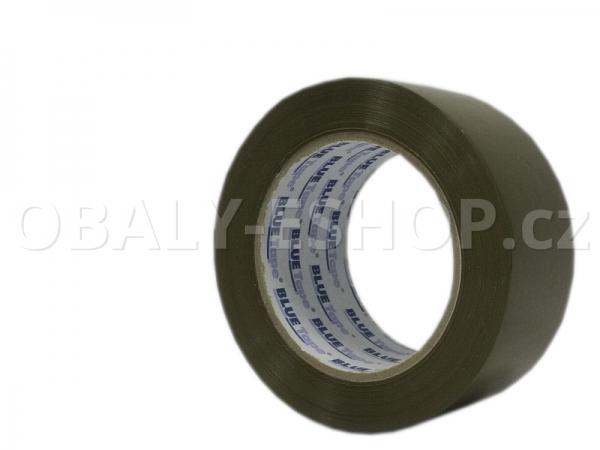 Lepicí páska LP3 48mmx132m Hnědá Solvent 42µm Blue Tape