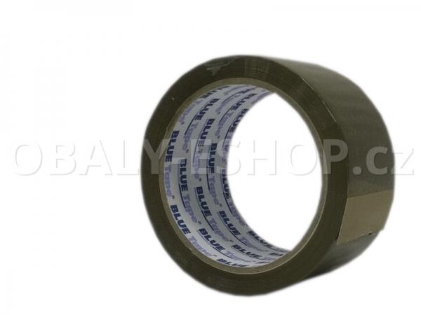 Lepicí páska LP3 48mmx66m Hnědá Solvent 42µm Blue Tape
