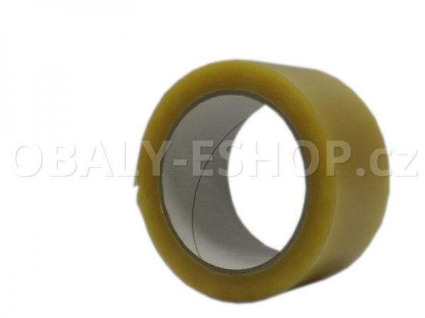 Lepicí  páska PVC 50mmx66m Transp. Solvent 52µm