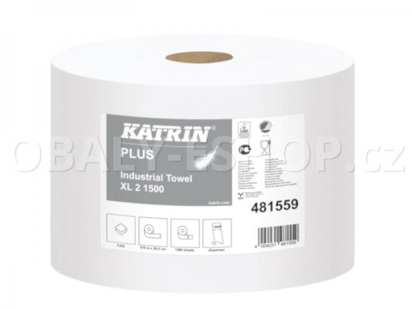 Utěrka průmyslová 2vr. XL2 Celulóza Katrin 481559