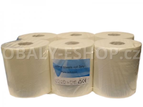 Papírový ručník PK MAXI 20cmx110m 2vrstvý celulóza
