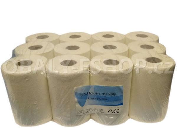 Papírový ručník PK MIDI 20cmx55m  2 vrstvý celulóza
