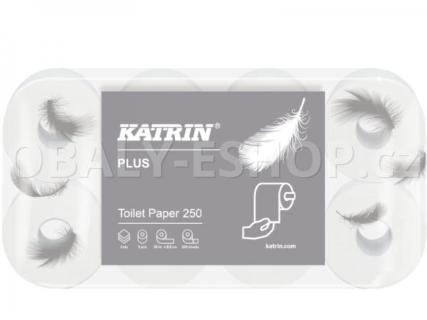 Toaletní papír Katrin Plus 104872 3vrstvý, Celulóza 30m