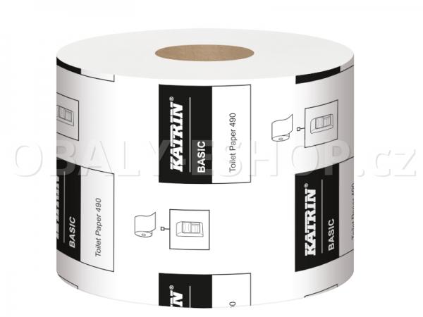 Toaletní papír Katrin Basic 490  2vrstvý, recyklovaný