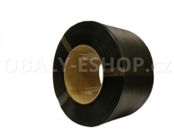 Vázací páska PP 10x0,40mm návin 3500m Dutinka 200mm Černá
