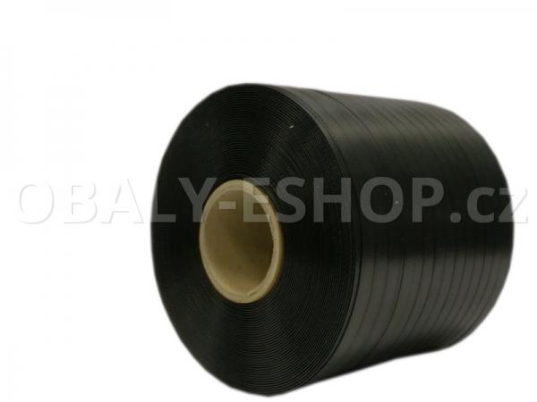 Vázací páska PP 10x0,35mm návin 900m Dutinka 60mm Černá