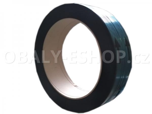 Vázací páska PP 12x0,50mm návin 3000m Dutinka 405mm Černá