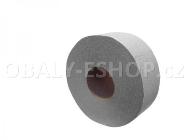 Toaletní papír Jumbo  průměr 190mm 1 vrstvý recyklovaný