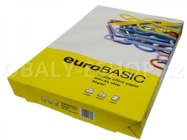 Papír Xero A3 80g Euro BASIC B+
