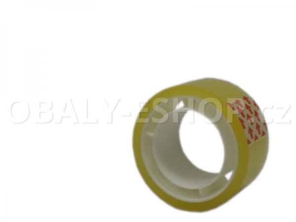 Kancelářská lepicí páska 19mmx10m EAN Transparentní