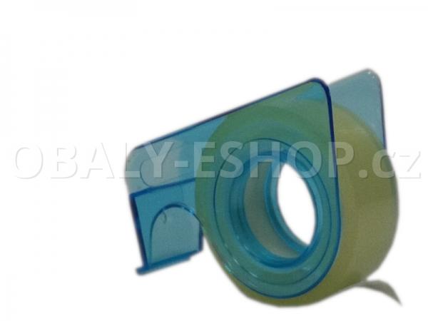 Kancelářská lepicí páska 15mmx10m s odvíječem