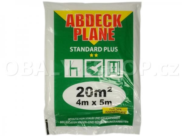 Malířská zakrývací fólie HDPE 4mx5m/12µm Profi Plus
