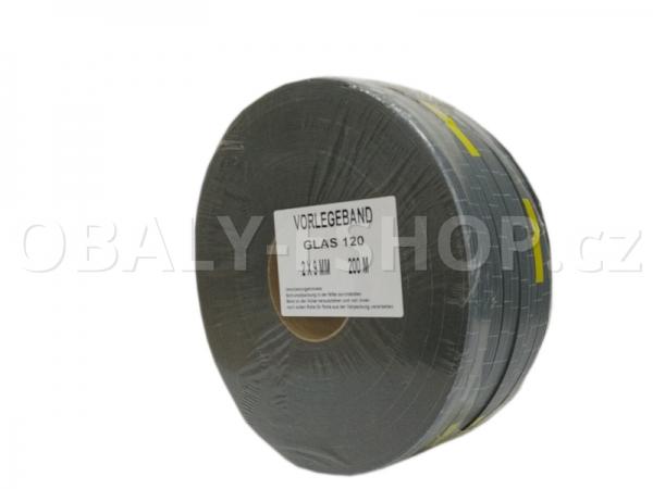 Těsnicí páska GLAS120  9x2mmx20m PEF Šedá