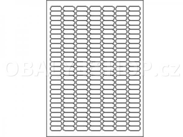 Etiketa SOREX  25,4x10mm