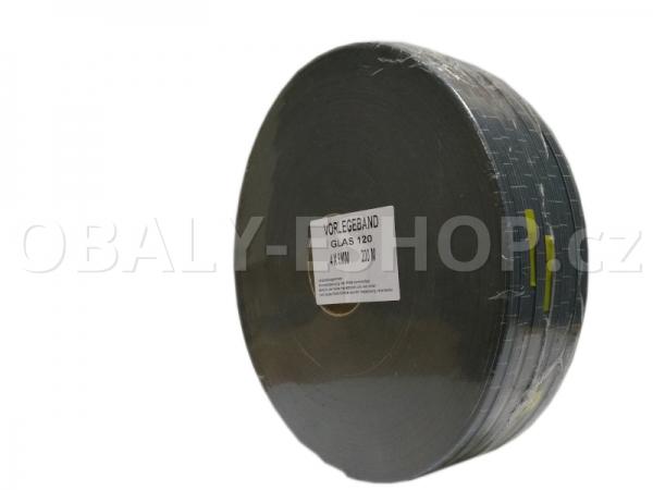 Těsnicí páska GLAS120  9x4mmx20m PEF Šedá