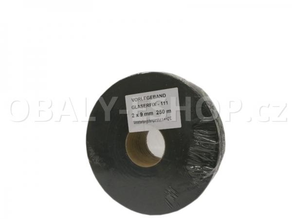 Těsnicí páska GLASERFIX111  9x2mmx25m PE Šedá