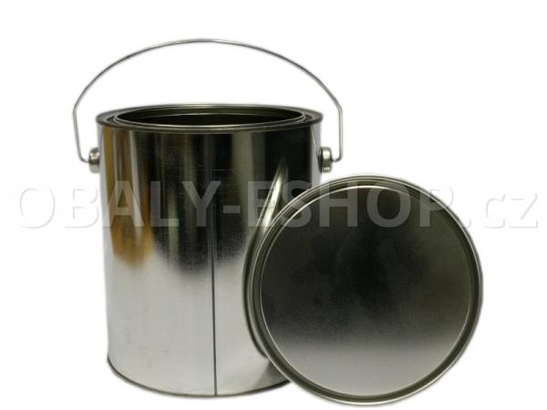 Plechovka s víčkem 160x180mm / 3250 ml ucho