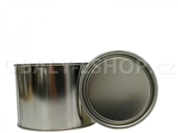 Plechovka s víčkem  99x75mm / 490 ml