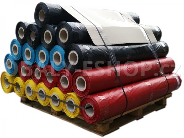 PE fólie hadice 1300x0,10mm Recyklovaná Černá