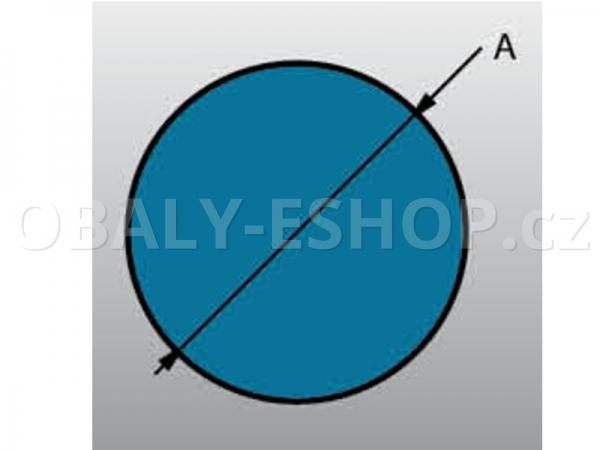 Profil pěnový PE OP 40 délka 2 m