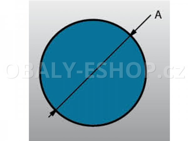 Profil pěnový PE OP 50 délka 2 m