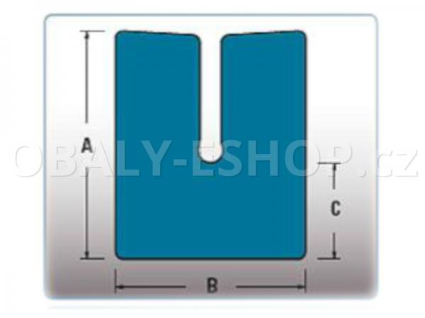 Profil pěnový PE RS 35-45 délka 2 m