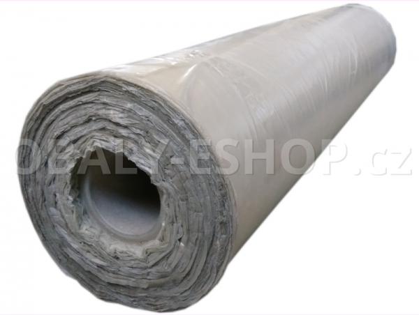 PE fólie polohadice 1000x0,05mm Recyklovaná Transparentní
