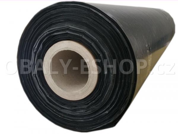 PE fólie polohadice  600x0,045mm Recyklovaná Černá