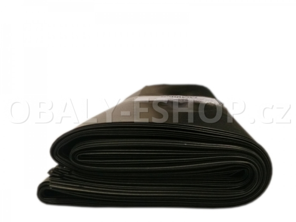 Pytel LDPE 100x120cm 200µm  Černý