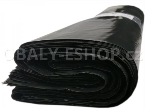 Pytel LDPE   70x110cm 80µm Černý