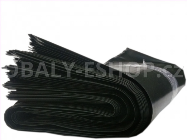 Pytel LDPE   55x90cm 200µm  Černý