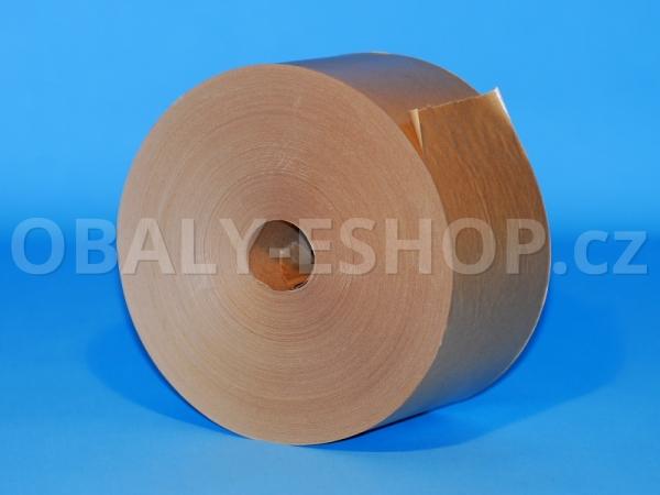 Zvlhčovací páska papírová 70mmx200m Hnědá