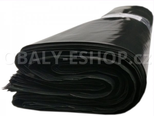 Pytel LDPE   70x110cm200µm Černý