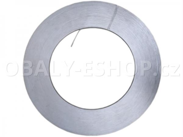 Vázací páska Ocelová 32x0,8mm / 350 mm