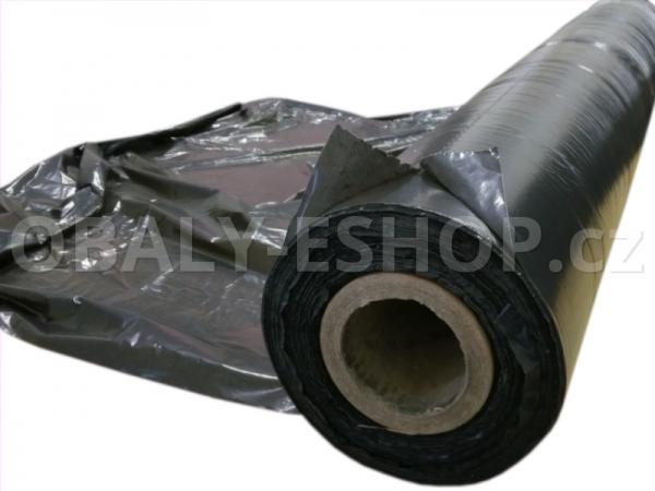 PE fólie zakrývací na palety 1200x1600mm Černá