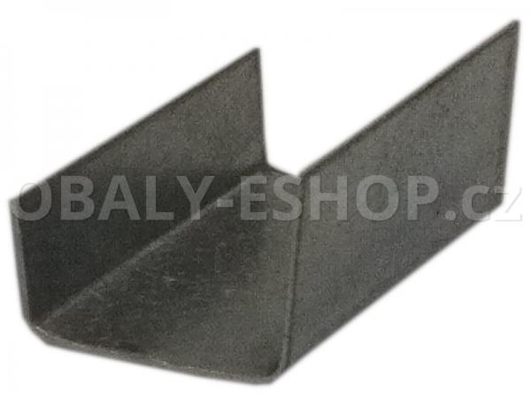 Spona ocelová 12 mm U 52 Hladká
