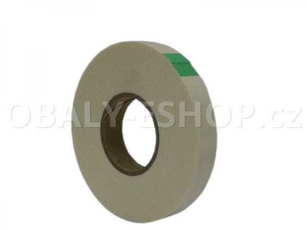 Oboustranná lepicí páska pěnová PA431 19x0,8mmx10m Bílá