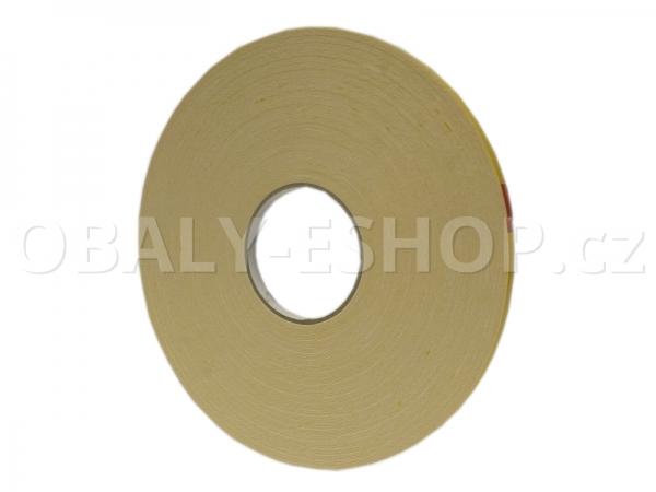 Oboustranná lepicí páska pěnová PA431  6x0,8mmx50m Bílá
