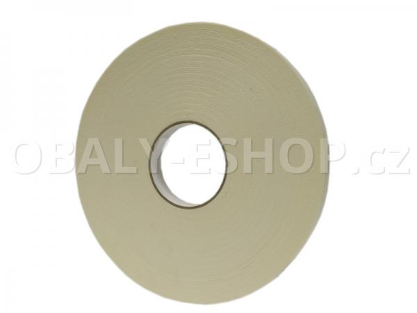 Oboustranná lepicí páska pěnová PA431 25x0,8mmx50m Bílá