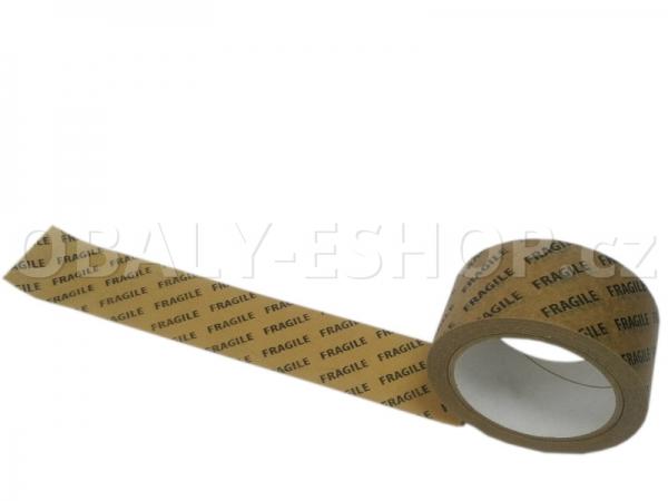 Potištěná lepicí páska Papírová 50mmx33m Ecopack 1 barva