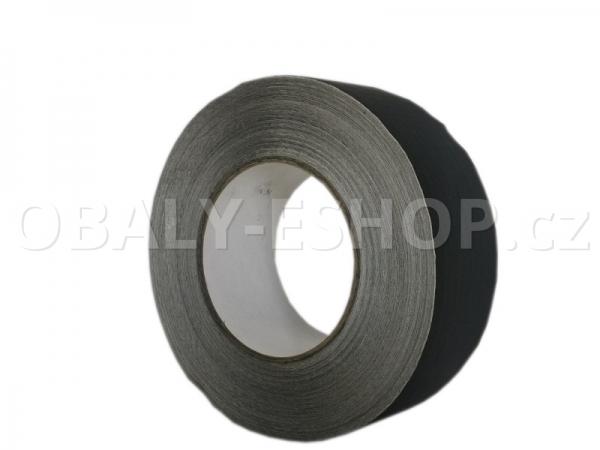 Hliníková lepicí páska 50mmx50m ALU 060 zesílená vlákny Černá